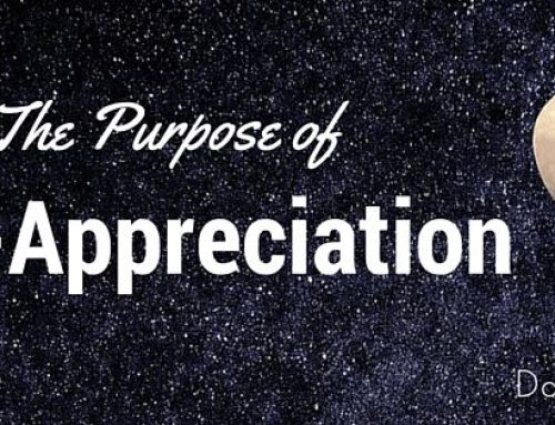 What is the purpose of self-appreciation?