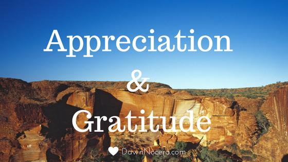 gratitude appreciation